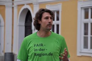 Stephan Schwarzbach, Initiator von Fair in der Region.